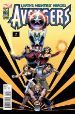Avengers (2012-2015) #19 Variant E: Avengers in the 1990s Cover