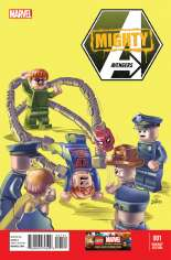Mighty Avengers (2013-2014) #1 Variant B: LEGO Color Cover