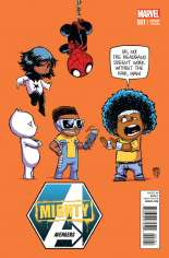Mighty Avengers (2013-2014) #1 Variant E: Baby Cover