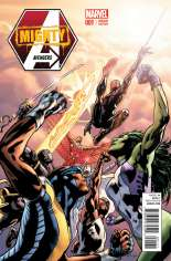 Mighty Avengers (2013-2014) #1 Variant F: 1:50 Variant