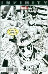 Mighty Avengers (2013-2014) #1 Variant H: Party Sketch Cover