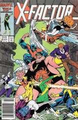 X-Factor (1986-1998) #9 Variant A: Newsstand Edition