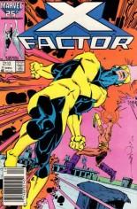 X-Factor (1986-1998) #11 Variant A: Newsstand Edition