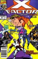 X-Factor (1986-1998) #53 Variant A: Newsstand Edition