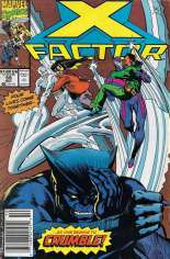 X-Factor (1986-1998) #59 Variant A: Newsstand Edition