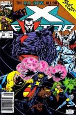 X-Factor (1986-1998) #78 Variant A: Newsstand Edition