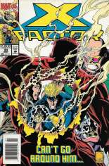 X-Factor (1986-1998) #90 Variant A: Newsstand Edition