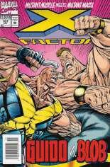 X-Factor (1986-1998) #107 Variant A: Newsstand Edition