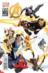 Avengers (2012-2015) #20 Variant B: Avengers 50th Anniversary Cover