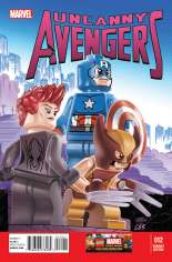 Uncanny Avengers (2012-2014) #12 Variant B: LEGO Color Cover