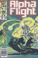 Alpha Flight (1983-1994) #35 Variant A: Newsstand Edition