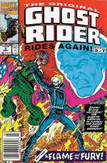 Original Ghost Rider Rides Again (1991-1992) #3 Variant A: Newsstand Edition