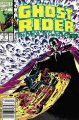 Original Ghost Rider Rides Again (1991-1992) #4 Variant A: Newsstand Edition