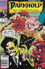 Darkhold: Pages From the Book of Sins (1992-1994) #2 Variant A: Newsstand Edition