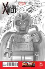 All-New X-Men (2013-2015) #17 Variant D: LEGO Sketch Cover