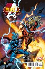Mighty Avengers (2013-2014) #2 Variant C: Thor Battle Cover