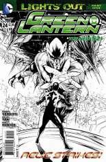 Green Lantern (2011-2018) #24 Variant B: Sketch Cover