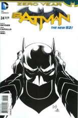 Batman (2011-2016) #24 Variant D: Sketch Cover
