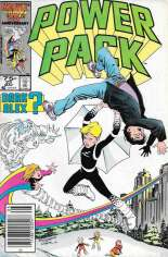 Power Pack (1984-1991) #22 Variant A: Newsstand Edition