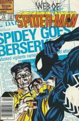 Web of Spider-Man (1985-1995) #13 Variant A: Newsstand Edition