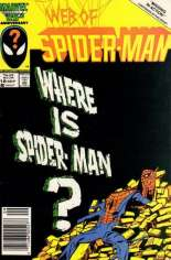 Web of Spider-Man (1985-1995) #18 Variant A: Newsstand Edition