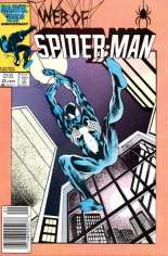 Web of Spider-Man (1985-1995) #22 Variant A: Newsstand Edition