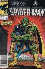 Web of Spider-Man (1985-1995) #25 Variant A: Newsstand Edition