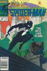 Web of Spider-Man (1985-1995) #26 Variant A: Newsstand Edition