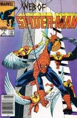 Web of Spider-Man (1985-1995) #2 Variant C: 75 Cent Variant