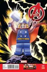Avengers (2012-2015) #21 Variant B: LEGO Color Cover