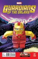 Guardians of the Galaxy (2013-2015) #7 Variant C: LEGO Color Cover