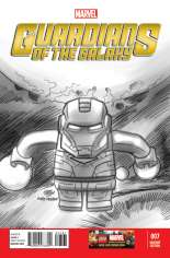 Guardians of the Galaxy (2013-2015) #7 Variant F: LEGO Sketch Cover