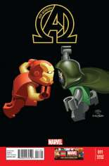 New Avengers (2013-2015) #11 Variant B: LEGO Color Cover