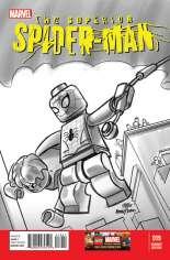 Superior Spider-Man (2013-2014) #19 Variant D: LEGO Sketch Cover