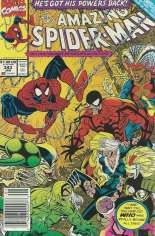 Amazing Spider-Man (1963-1998) #343 Variant A: Newsstand Edition