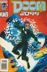Doom 2099 (1993-1996) #10 Variant A: Newsstand Edition