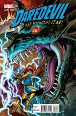 Daredevil (2011-2014) #32 Variant B: Thor Battle Cover