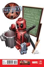 Secret Avengers (2013-2014) #10 Variant B: LEGO Color Cover