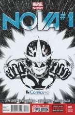 Nova (2013-2015) #1 Variant I: ComicsPro Exclusive Sketch Cover