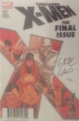 Uncanny X-Men (1963-2011) #544 Variant D: DF Signed Edition; Signed by Greg Land; Limited to 200 Copies