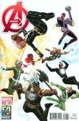 Avengers (2012-2015) #22 Variant B: Avengers 50th Anniversary Cover