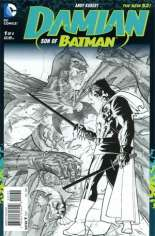 Damian: Son of Batman (2013-2014) #1 Variant C: Sketch Cover