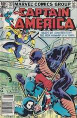 Captain America (1968-1996) #282 Variant A: Newsstand Edition