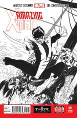 Amazing X-Men (2014-Present) #1 Variant F: Sketch Cover