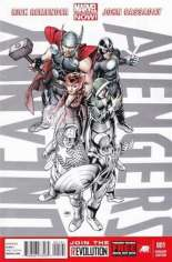 Uncanny Avengers (2012-2014) #1 Variant I: Personalized Retailer Exclusive; Limited to 1 Per Store