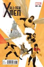 All-New X-Men (2013-2015) #18 Variant B: X-Men in the 1960s Cover