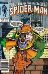 Spectacular Spider-Man (1976-1998) #104 Variant A: Newsstand Edition