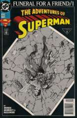 Adventures of Superman (1987-2006) #498 Variant A: Newsstand Edition