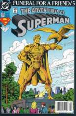 Adventures of Superman (1987-2006) #499 Variant A: Newsstand Edition