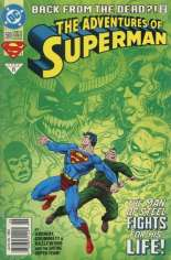Adventures of Superman (1987-2006) #500 Variant A: Newsstand Edition